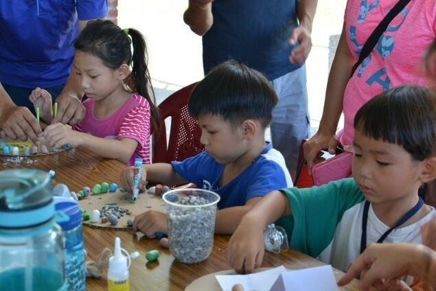 兒童將透過工作坊參與,打造心目中的兒童樂園。(記者陳文嬋翻攝)