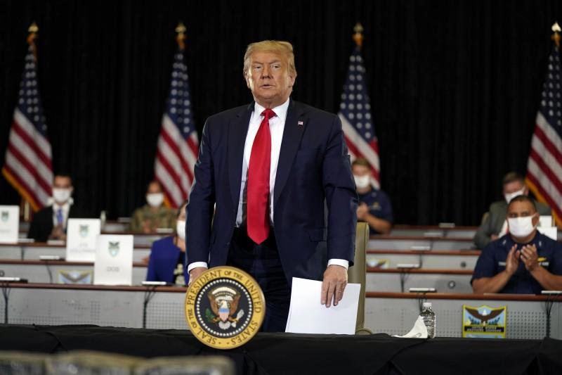 美國總統川普首度證實,美國在2018年曾對俄羅斯「網路研究機構」發動網路攻擊。(美聯社)