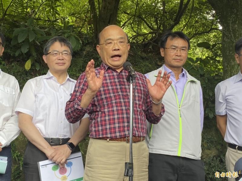 行政院長蘇貞昌領導的蘇內閣為任用政府所需專業人才,正由人事行政總處研擬「聘約人員人事條例草案」。(資料照)