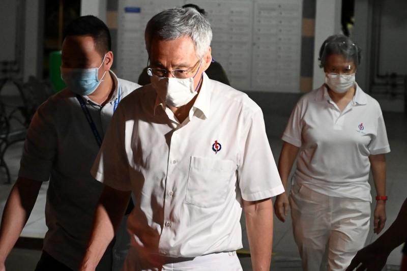 新加坡總理李顯龍坦言選舉結果不如預期。(法新社)