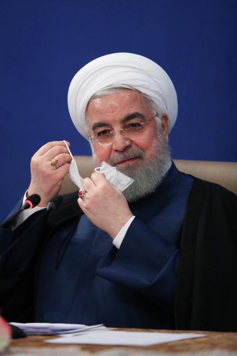 伊朗總統魯哈尼。(歐新社)