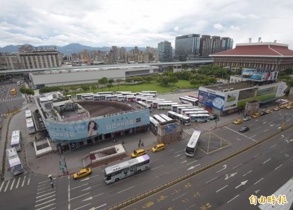 國光客運台北西站。(資料照)