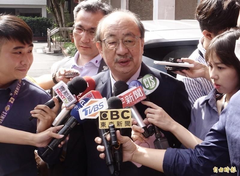 民進黨團總召柯建銘說,國民黨團若不讓監察院長被提名人陳菊備詢,是放棄責任與權利,17日仍要表決。(資料照)