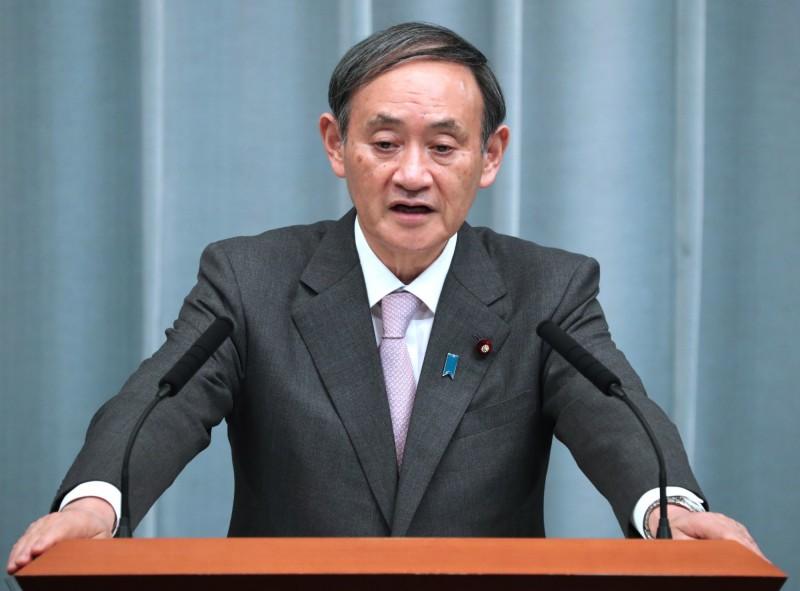 日本內閣官房長官菅義偉11日再申,目前尚無需重新宣布緊急事態宣言。(歐新社)