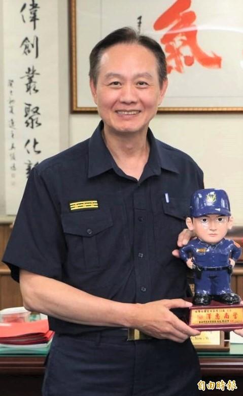 台南市警察局長周幼偉。(記者楊金城攝)