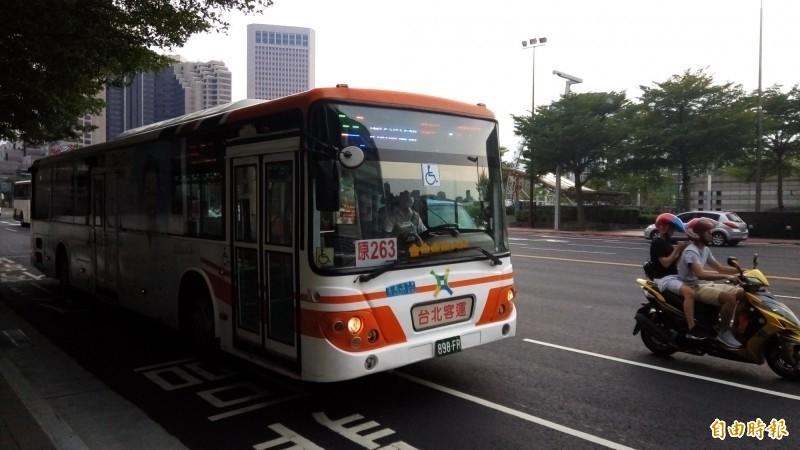 北市公車示意圖,與新聞無關。(資料照)