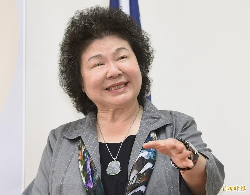 前總統府祕書長陳菊。(資料照)