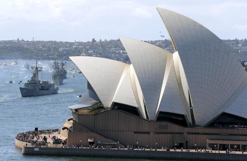 澳洲為港人提供取得永久居留權機會。(美聯社)