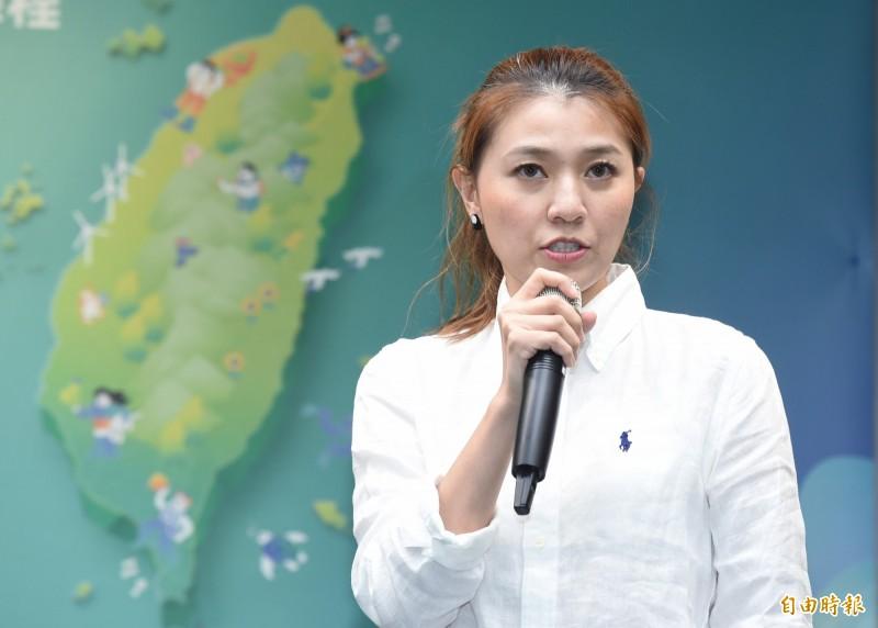 民進黨發言人顏若芳表示,國民黨一再利用高雄人的傷痛來詐取政治利益,實在可恥。(資料照)