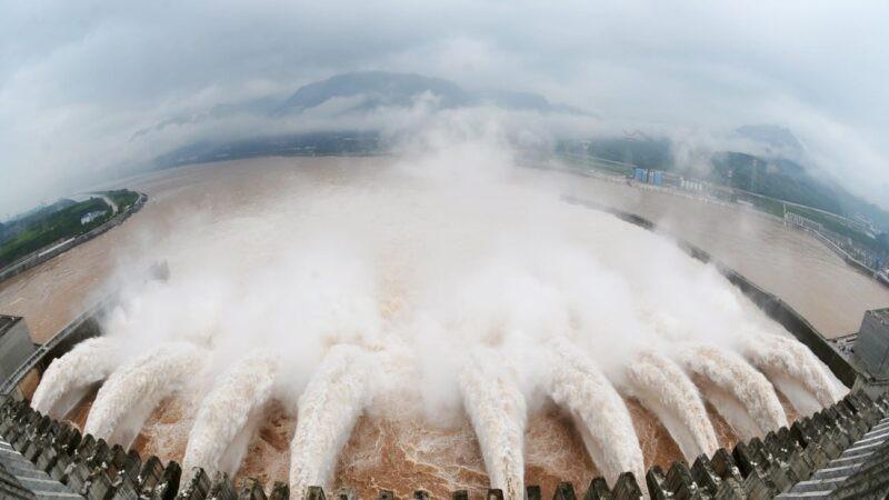 三峽大壩。(資料照,法新社)