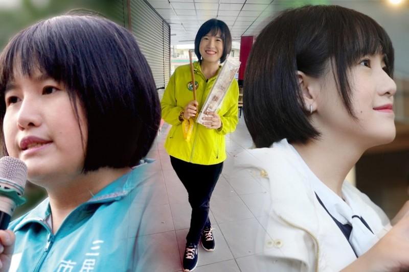 民進黨高市議員鄭孟洳瘦身4個多月成功減重28.7公斤,亮麗外型讓人驚豔。(本報合成)