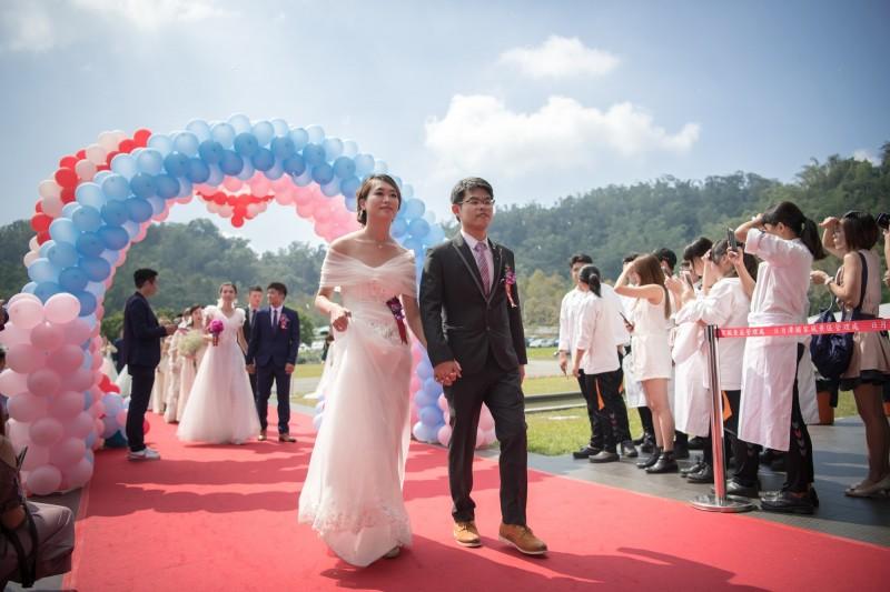 2020『日月同心,愛妳愛你』日月潭浪漫集團婚禮,將於10月8日舉行,即日起開始報名。(南投縣政府提供)(記者張協昇攝)