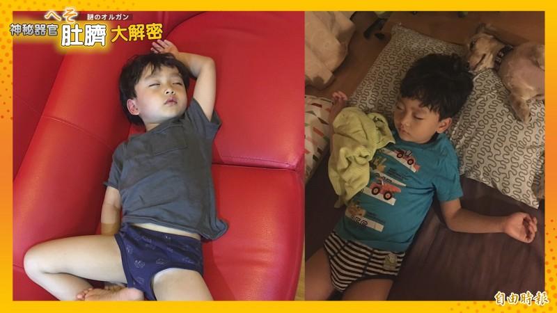 天氣炎熱,許多人在睡覺時選擇不蓋被子,但長輩常說「再熱,都要把肚臍蓋住」,這說法有什麼根據嗎?(影音製圖)