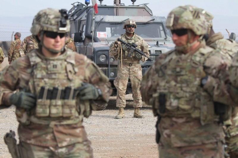 美國國防部宣布,美軍已經從阿富汗5個軍事基地撤出,並移交給阿富汗政府軍。圖為駐阿富汗美軍。(歐新社)