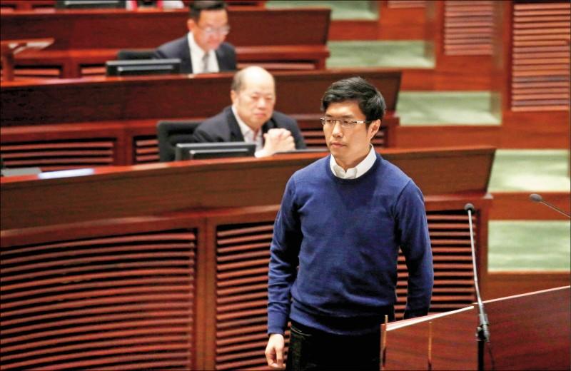 香港泛民主派初選協調人區諾軒,在中國政府聲稱初選可能違反國安法後,十五日宣布退出初選工作。(路透檔案照)