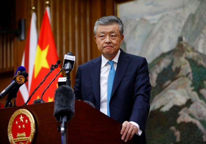 中國駐英大使劉曉明(見圖)警告歐洲政客停止干預中國內部事務,強調「港版國安法受到香港人民熱烈歡迎」。(法新社)