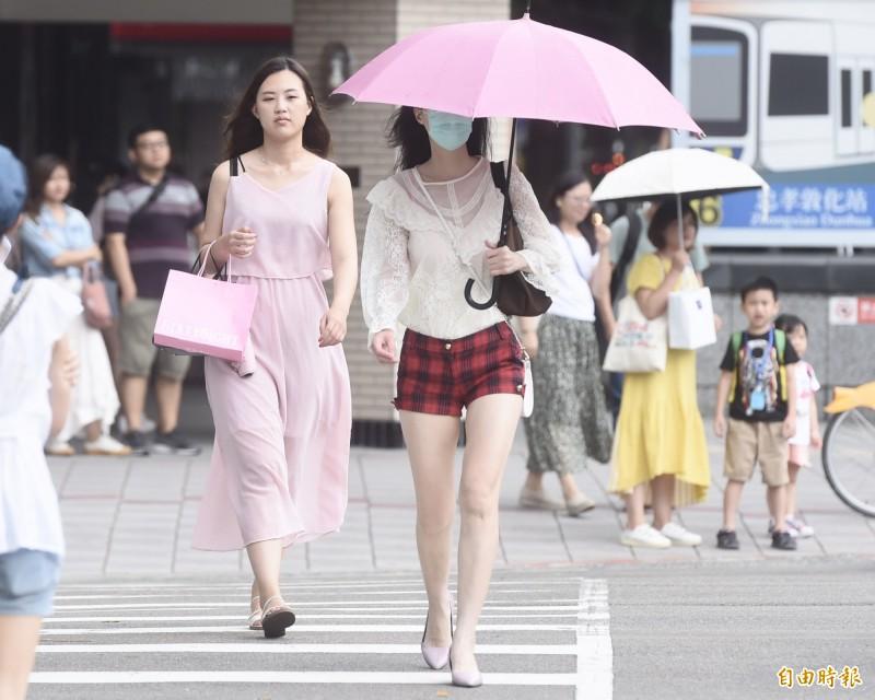 連日高溫籠罩台灣。(資料照)