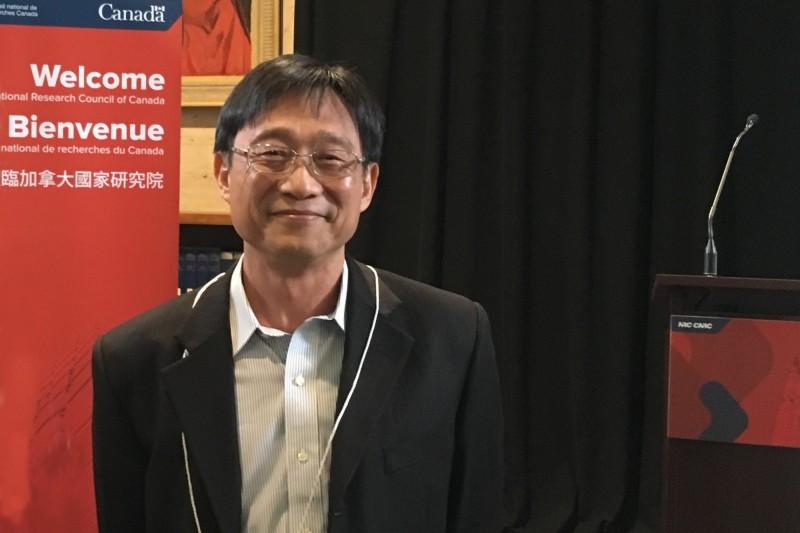 成大電機系特聘教授林志隆。(圖由成功大學提供)