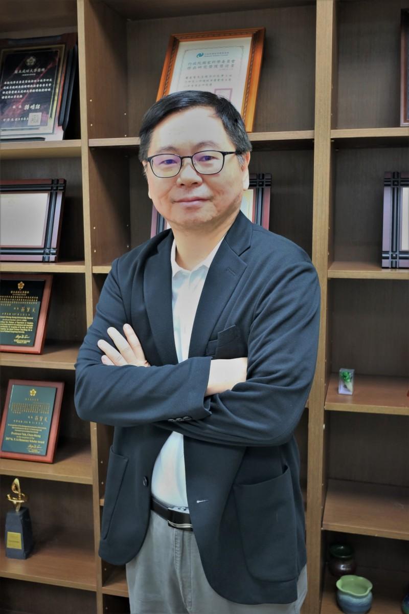 成大化學系講座教授葉晨聖。(圖由成功大學提供)