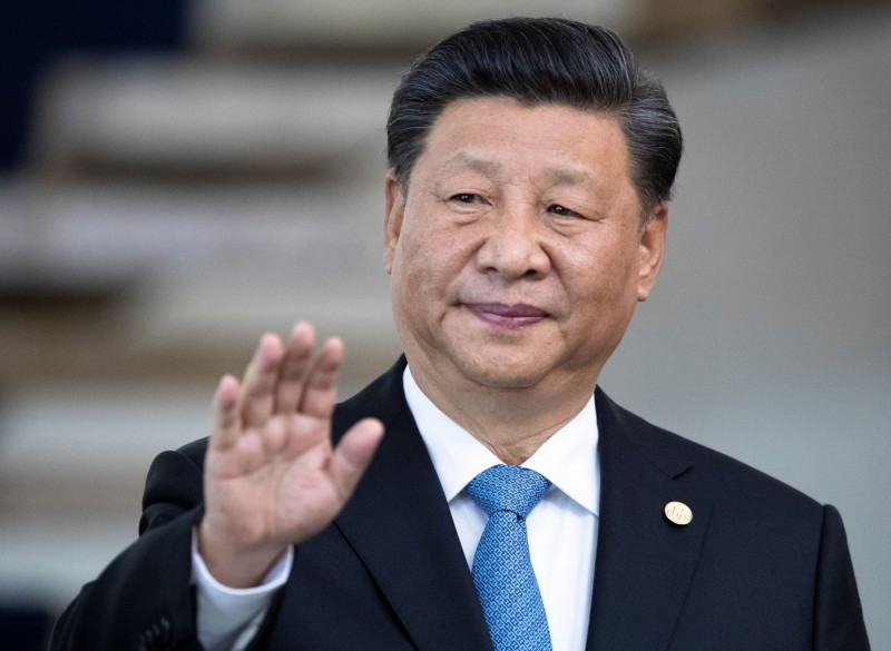 中國國家主席習近平最近在長江流域洪災期間不見蹤影。(路透資料照)