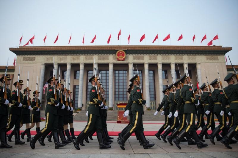 華府智庫強調,台灣透過遠程飛彈能將戰事從台灣帶回中國。(歐新社檔案照)