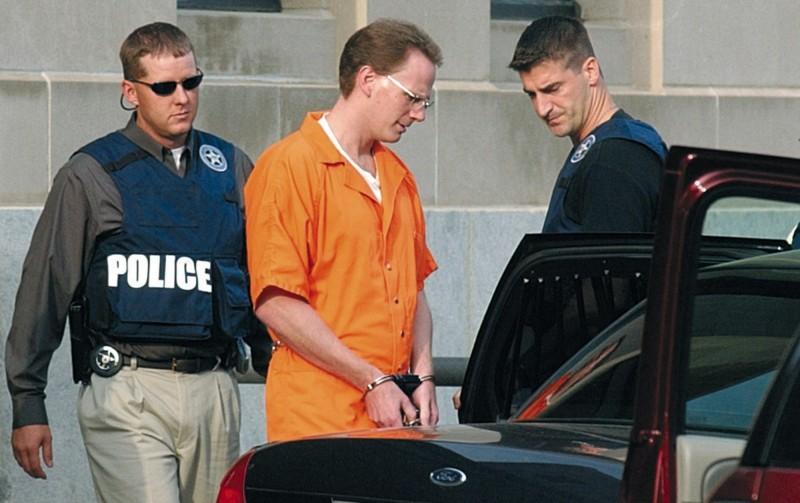 美國聯邦死刑中斷17年後,短短一週內就有3名死刑犯被處死。圖為17日伏法的洪肯(Dustin Honken)。(美聯社)