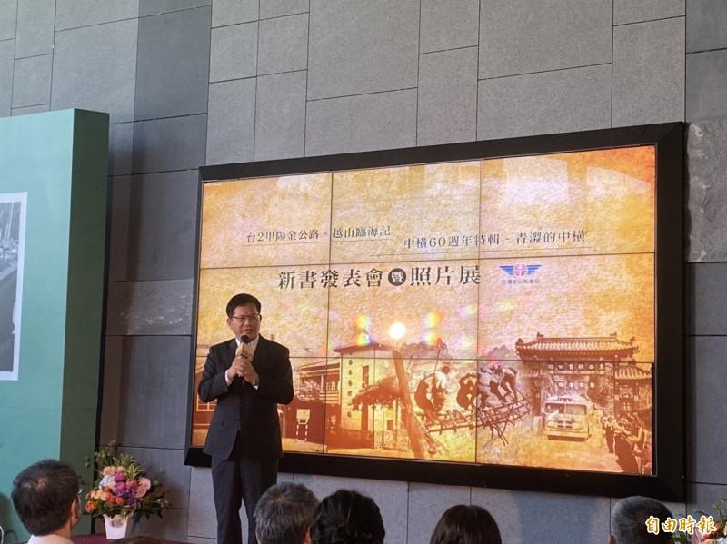林佳龍今天表示,有關新增中國6航點客機載貨,目前仍以防疫優先為考量。(記者蕭玗欣攝)