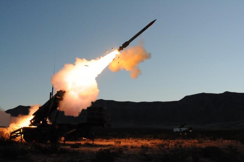 愛國者三型飛彈發射圖。資料照片:取材自洛克希德馬丁公司網站。 (資料照,記者羅添斌攝)