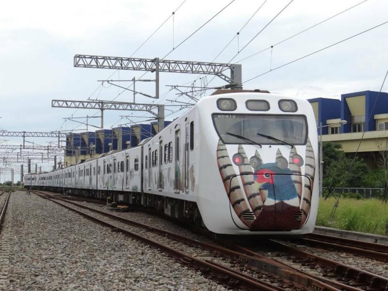 里山動物彩繪列車將於8月2日行駛末班車後卸妝。(圖:台鐵局提供)