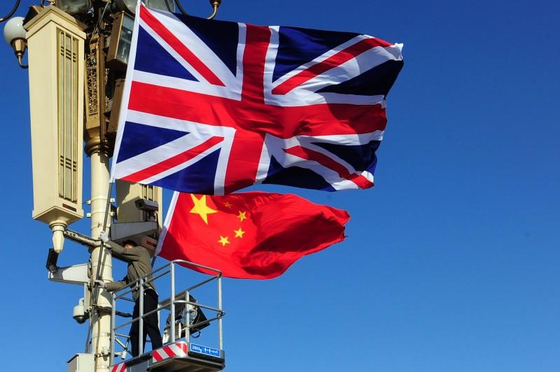 英國外交大臣拉布宣布,即起無限期中止與香港的引渡條約,並將對中國武器禁運擴大到香港。(法新社)