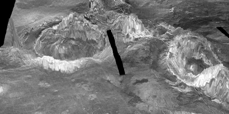 科學家的研究顯示,金星內部的熱物質至今仍能上湧至地表,金星顯然不是如同以往所認為般的地質上死氣沉沉。(路透)