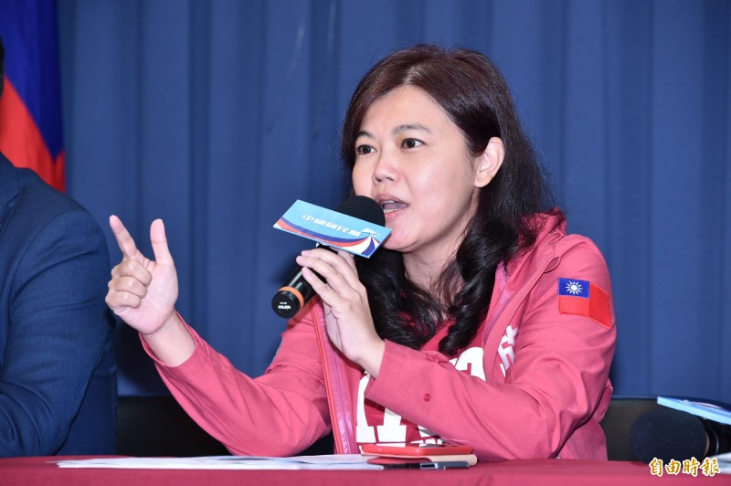 國民黨革實院長副院長、台北市議員游淑慧今在臉書加碼爆料,稱揚運集團的高壽濤是「紅綠通吃的紅頂商人」。(資料照)