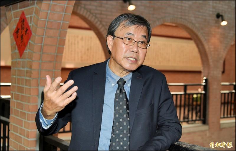 中山大學校長鄭英耀表示,將對老師疏忽進行教評會檢討。(記者張忠義攝)
