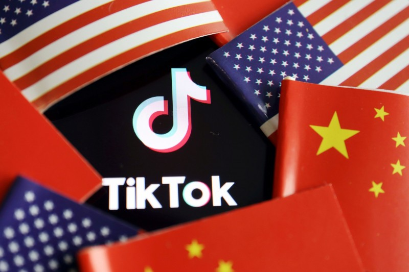 TikTok遭美國政府、國會鎖定。(路透)