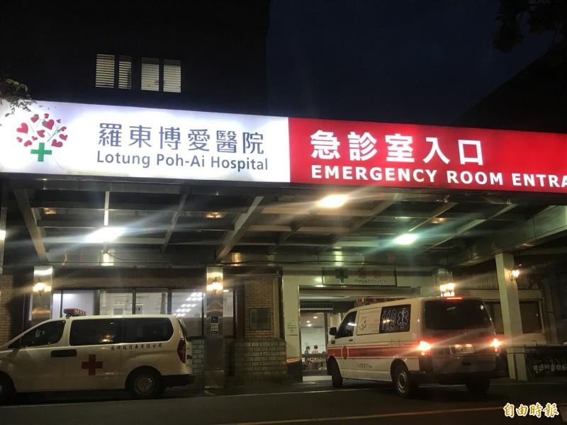 男子大鬧宜蘭羅東博愛醫院急診室,因心神喪失判無罪,須監護1年處分確定。(資料照)