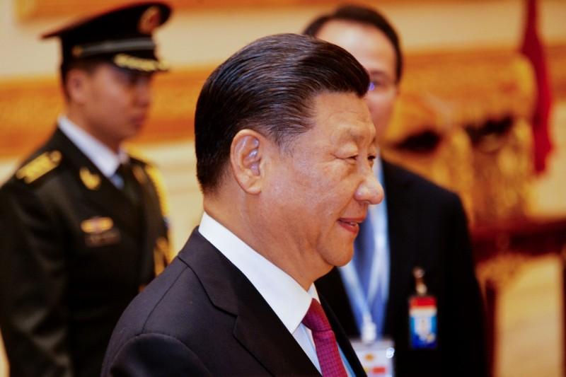 中國領導人習近平。(法新社)