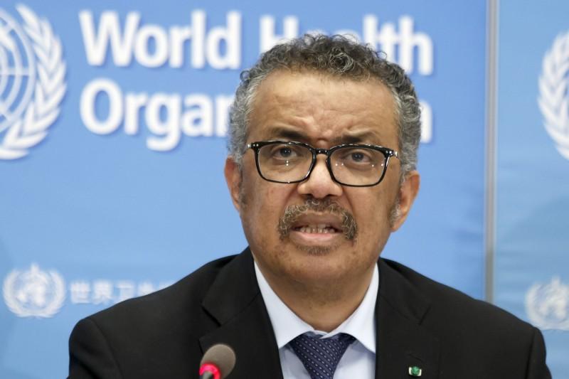 美國國務卿龐皮歐指控,世界衛生組織(WHO)秘書長譚德塞被中國收買。(美聯社資料照)