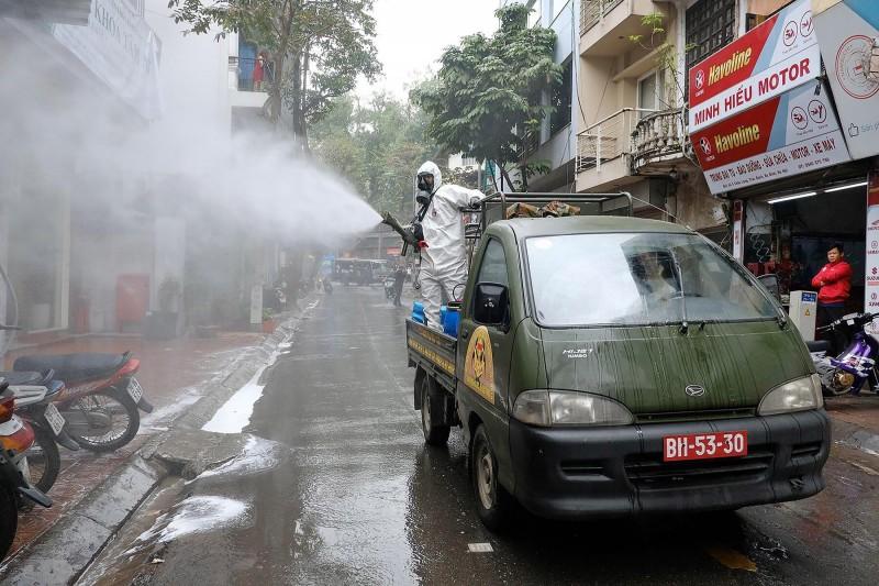 越南新增第413例確診,1名57歲男性病患驗出新型冠狀病毒陽性反應。(歐新社檔案照)