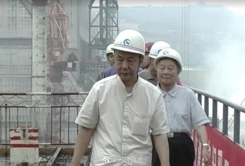 鄭守仁的水利專長相當為中國官方倚重,生前負責多項重要水利工程。(翻攝光明日報)