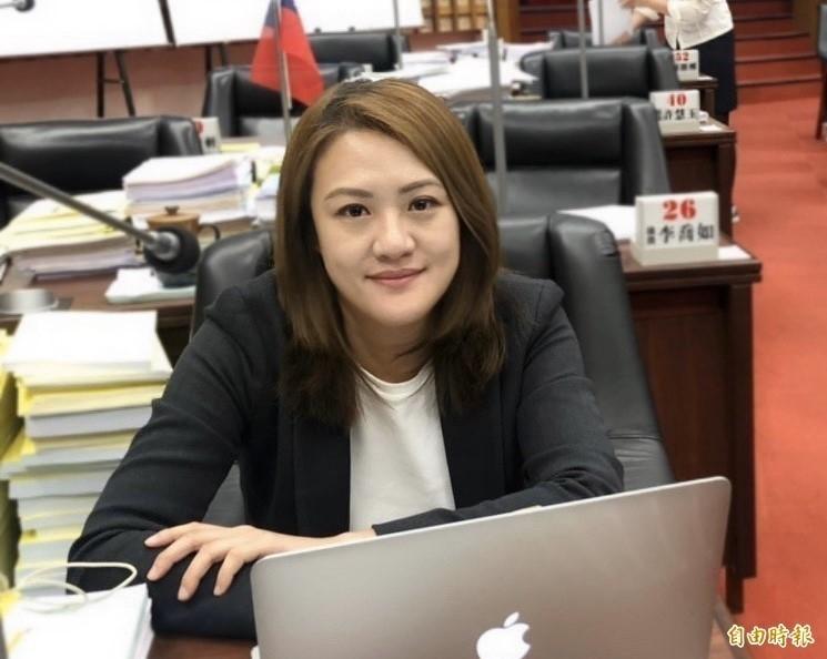 高雄市議員高閔琳被捲入論文風波,昨日在粉專公開回擊。(資料照)