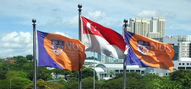 新加坡國立大學獲悉楊俊偉在美被捕認罪後,今天表示已撤銷其博士候選人資格。(圖擷取自NUS 推特)