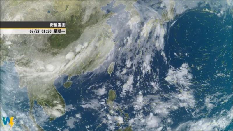氣象達人彭啟明指出,典型颱風容易發展的季風槽,本週有機會逐漸發展,不過目前預測還有變數,若成形會否撲台也仍待後續觀察。(圖擷自氣象達人彭啟明臉書)