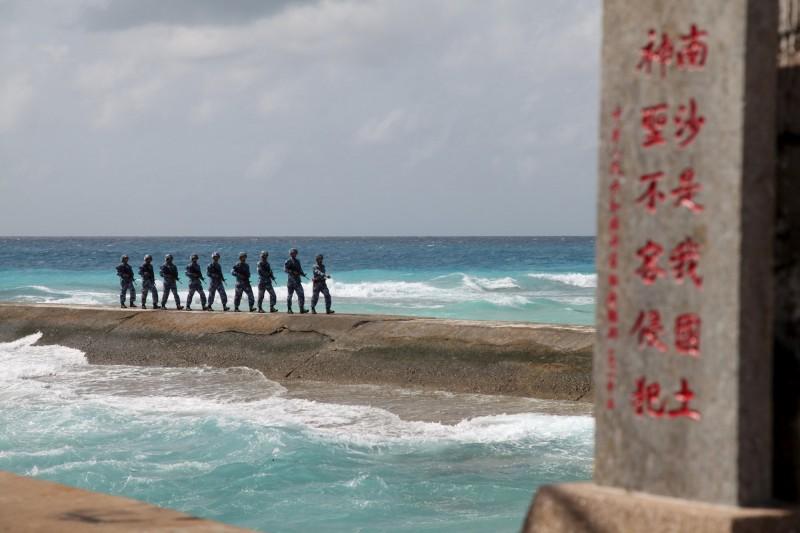 中國近年積極發展南海軍事部署,引發美國與周邊國家關切。(路透檔案照)
