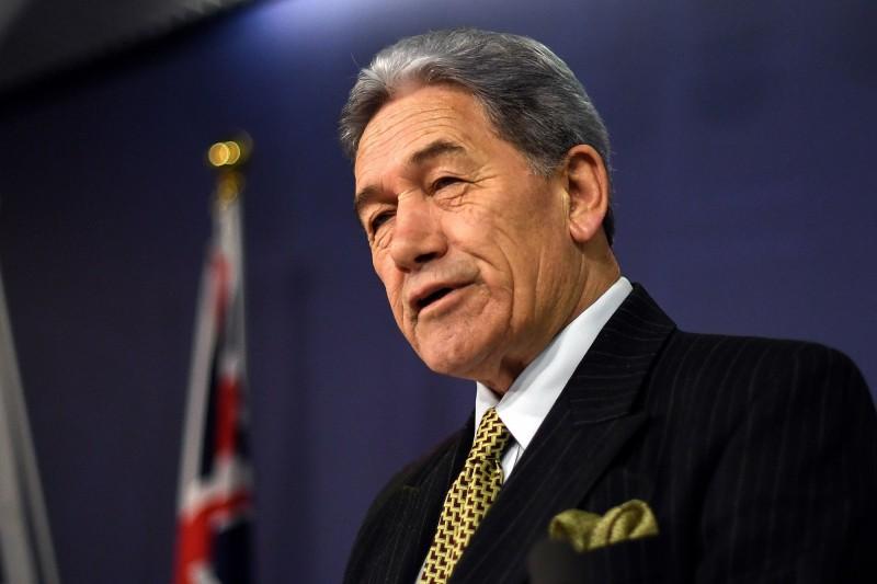 紐西蘭副總理兼外交部長皮特斯(Winston Peters)。(法新社資料照)