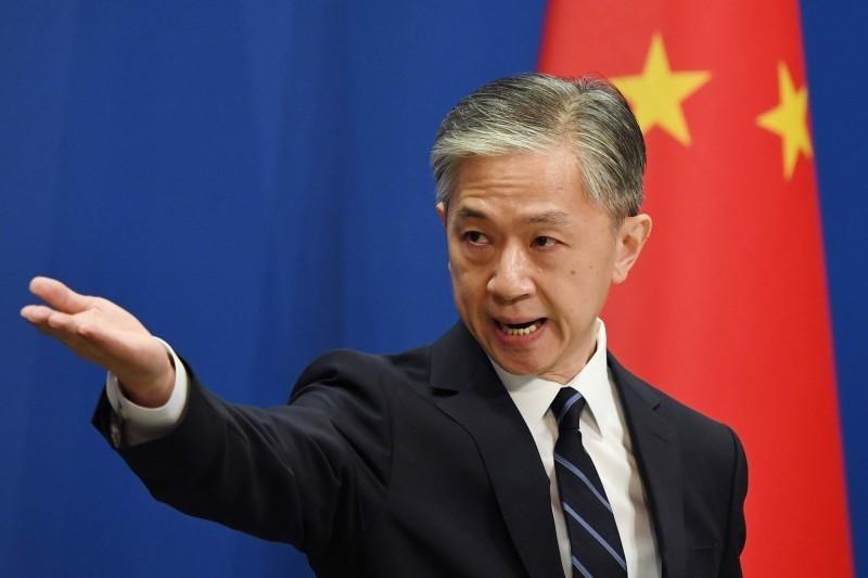 中國外交部發言人汪文斌針對美方收到中國可疑種子包裹一事表示,和中國郵政確認後,郵件上的中國郵政單據「屬於偽造」,希望美方將郵件退回中國以便展開調查。(法新社)