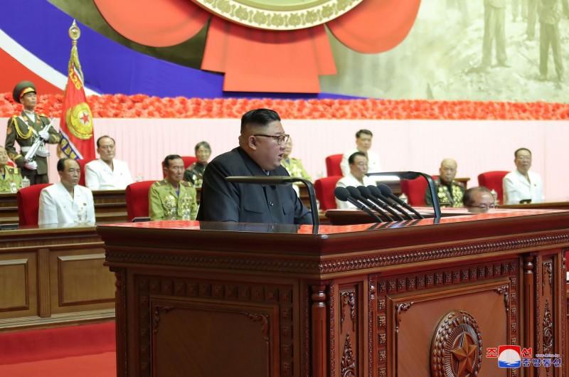 金正恩表示,北韓憑藉自衛性核威懾力,未來朝鮮半島將不再有戰爭爆發。(路透)