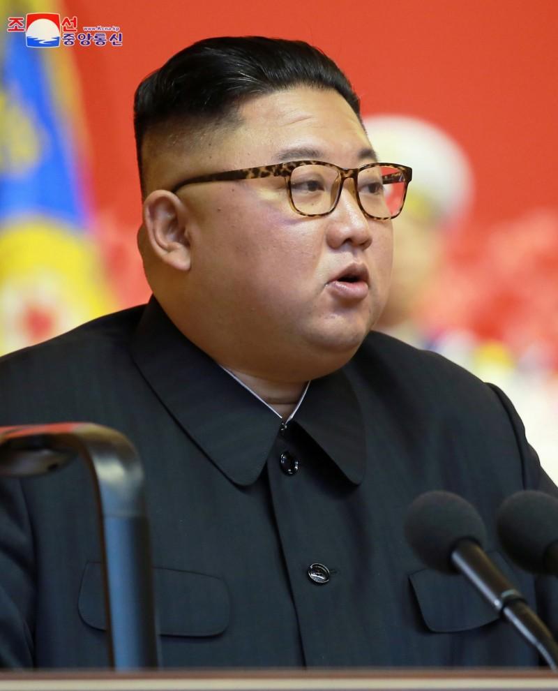 北韓最高領導人金正恩。(路透)