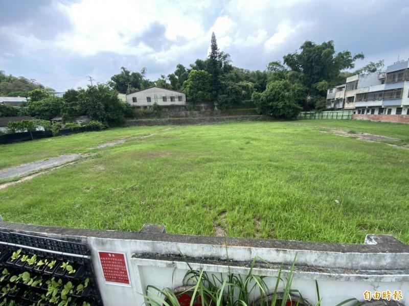 彰化縣即將要有第1棟社會住宅,基地位在彰化市中心,鄰近彰師大進德校區。(記者張聰秋攝)