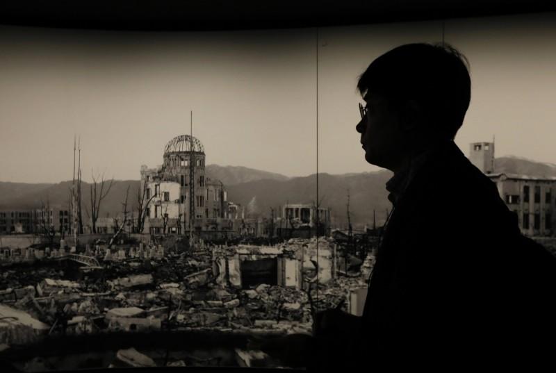 日本廣島原爆下週將滿75周年。(歐新社)