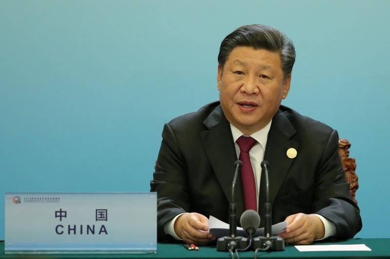 中國近年不斷加大對台文攻武嚇力道。圖為中國領導人習近平。(路透檔案照)